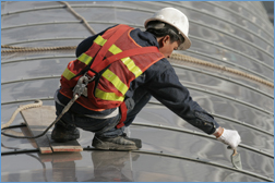 Roof Maintenance Metal Work