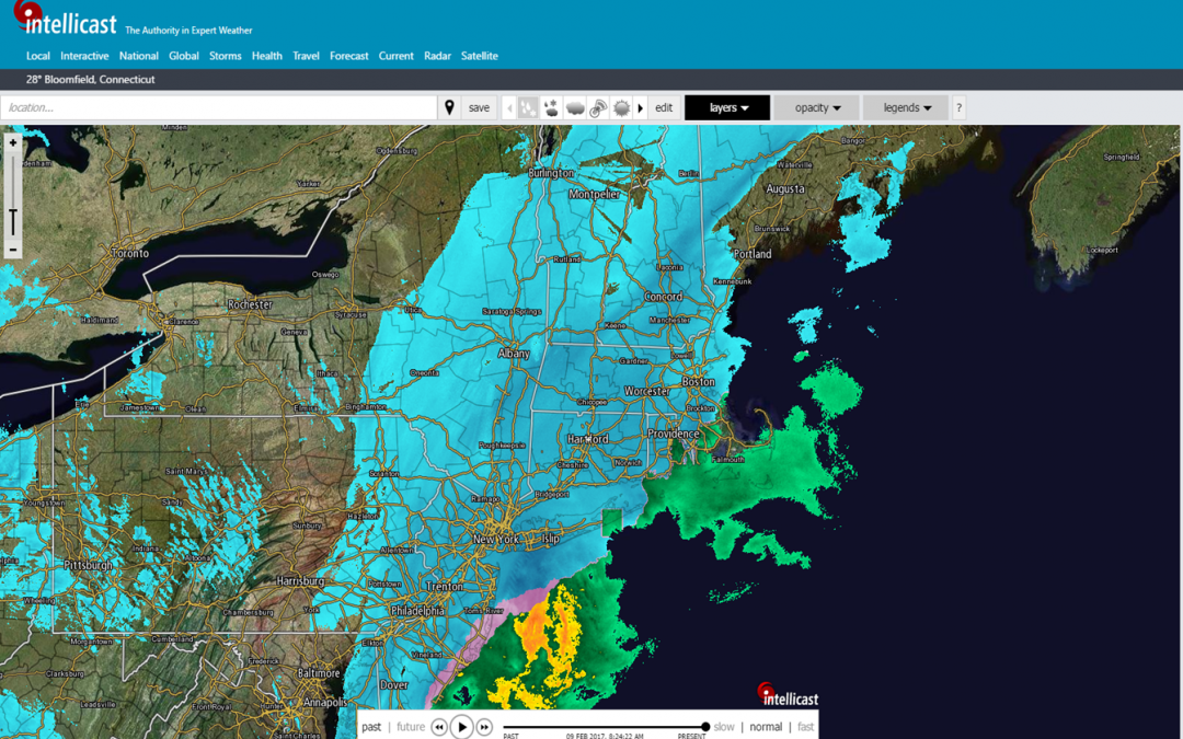 Nor'easter Snow Alert – Roof Drainage Clearing